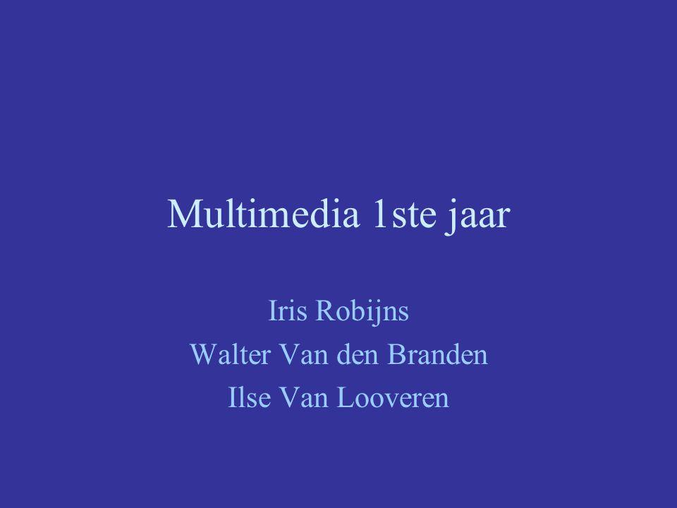 Iris Robijns Walter Van den Branden Ilse Van Looveren
