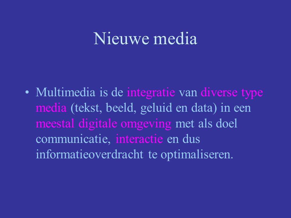 Nieuwe media