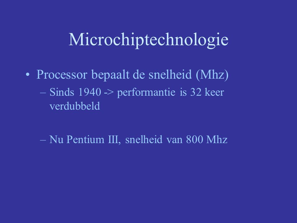 Microchiptechnologie
