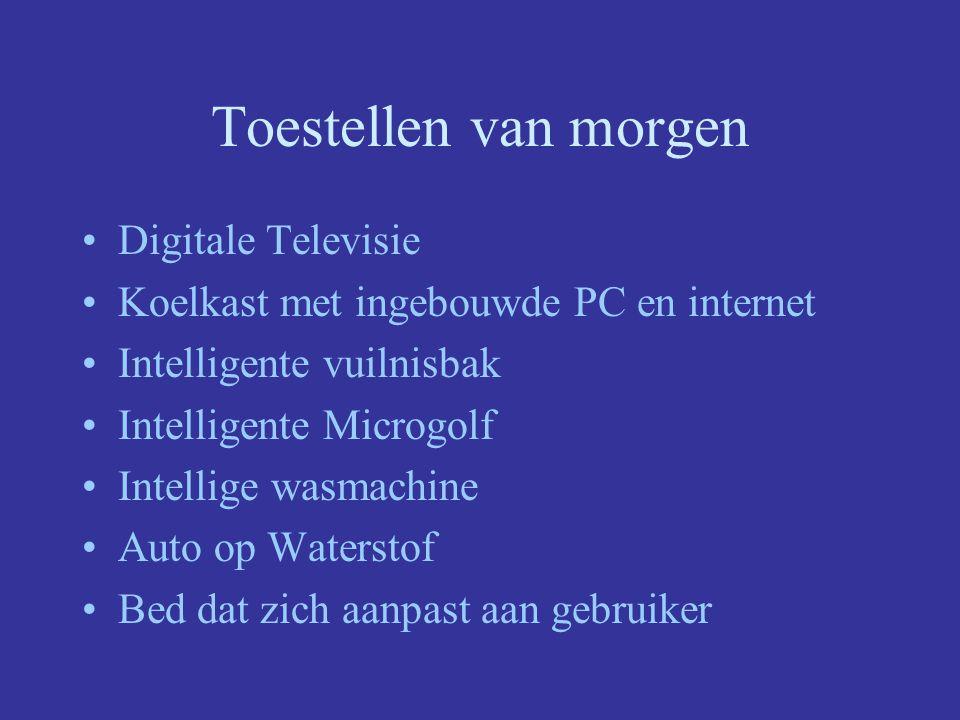 Toestellen van morgen Digitale Televisie