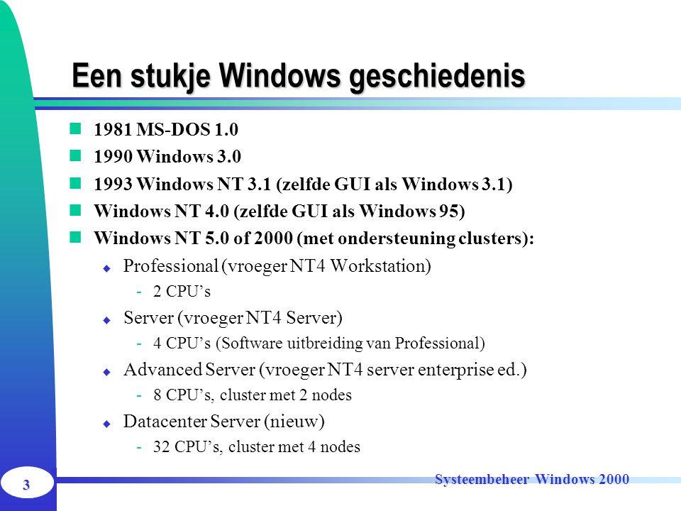 Een stukje Windows geschiedenis