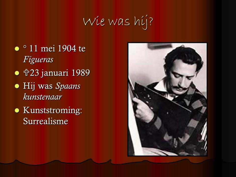 Wie was hij ° 11 mei 1904 te Figueras 23 januari 1989