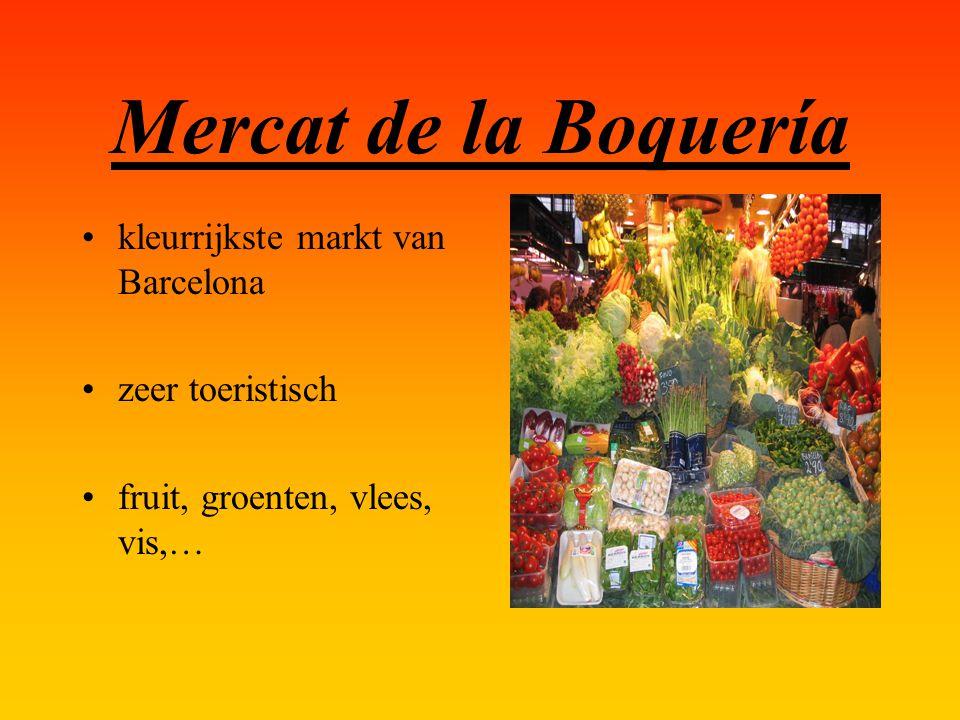 Mercat de la Boquería kleurrijkste markt van Barcelona