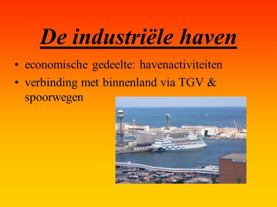 De industriële haven economische gedeelte: havenactiviteiten