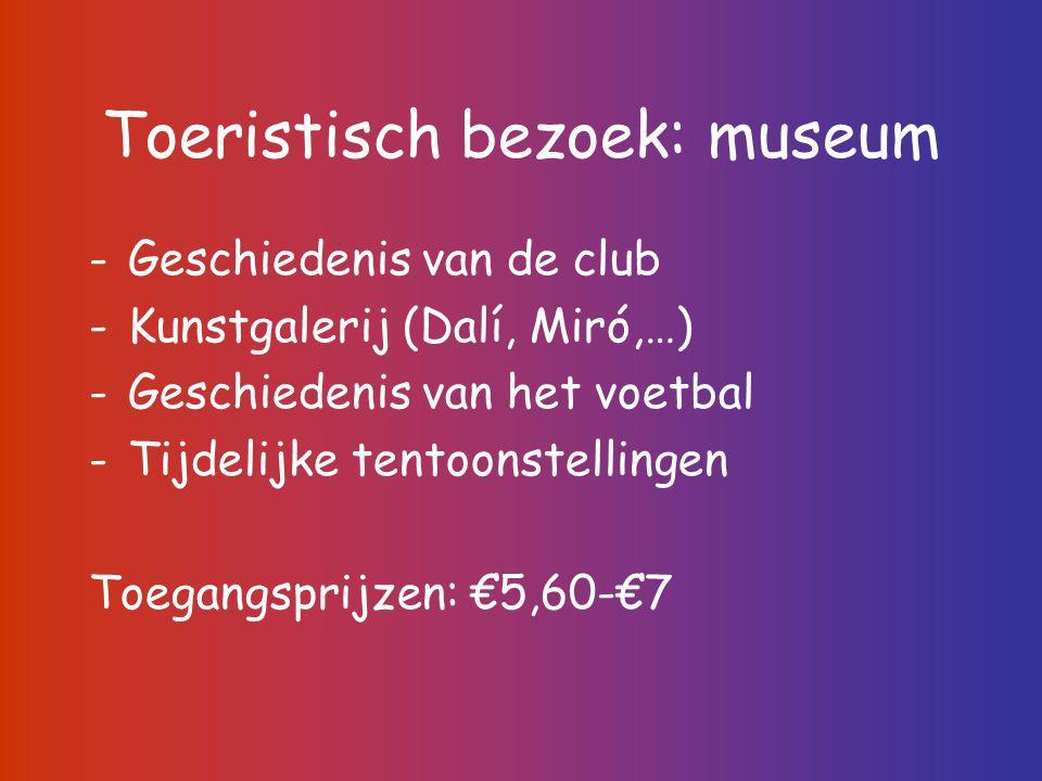 Toeristisch bezoek: museum