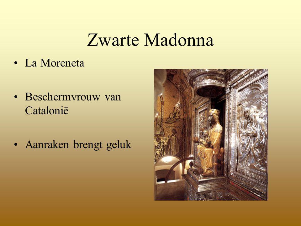 Zwarte Madonna La Moreneta Beschermvrouw van Catalonië