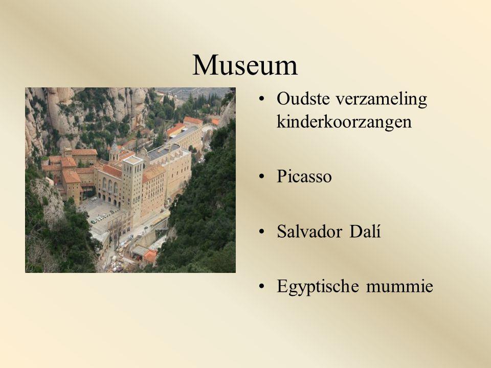 Museum Oudste verzameling kinderkoorzangen Picasso Salvador Dalí