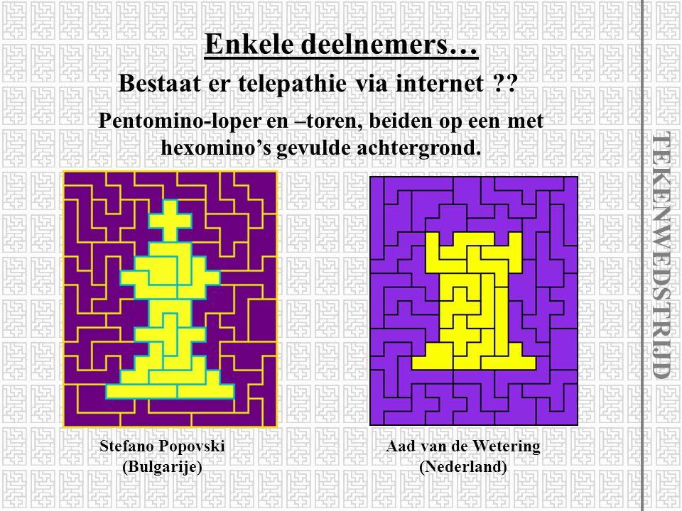 Enkele deelnemers… Bestaat er telepathie via internet