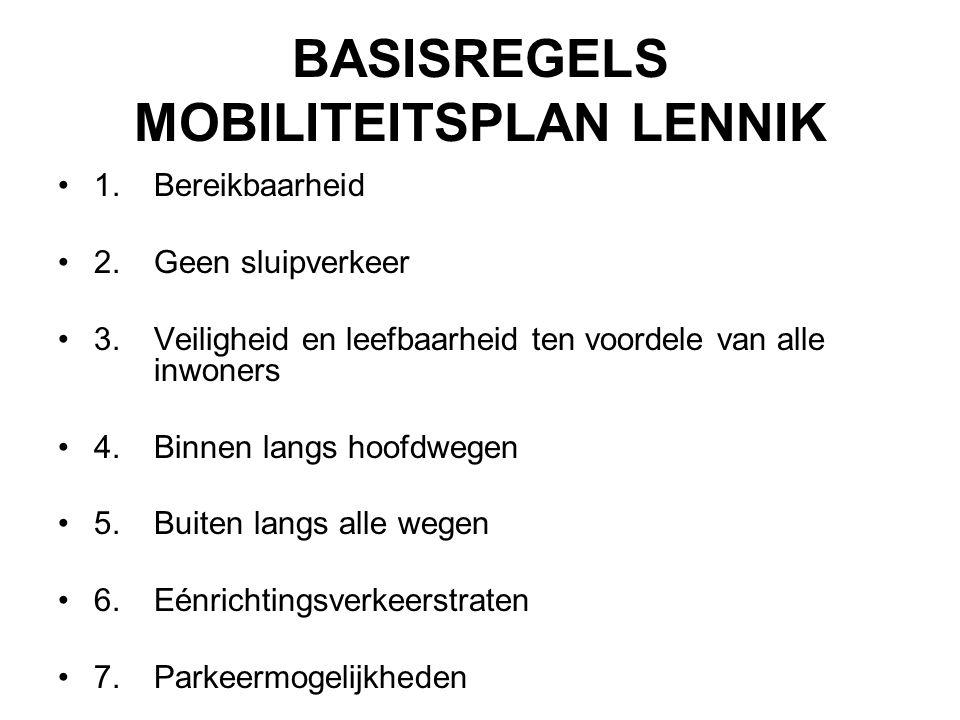 BASISREGELS MOBILITEITSPLAN LENNIK