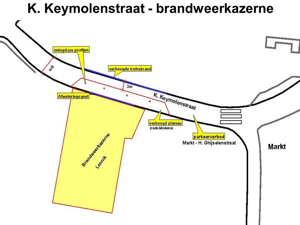 K. Keymolenstraat - brandweerkazerne