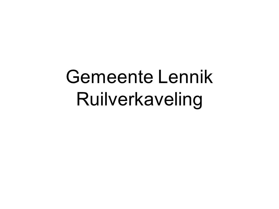 Gemeente Lennik Ruilverkaveling