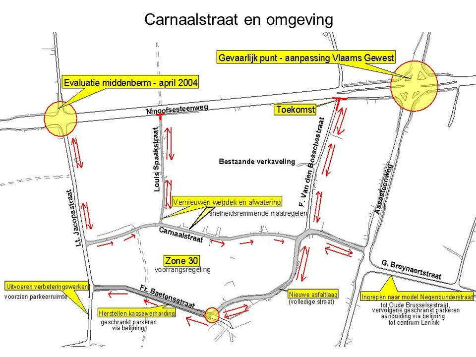 Carnaalstraat en omgeving