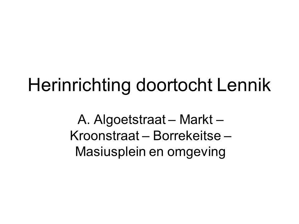 Herinrichting doortocht Lennik