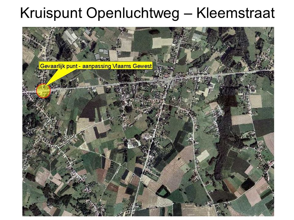 Kruispunt Openluchtweg – Kleemstraat