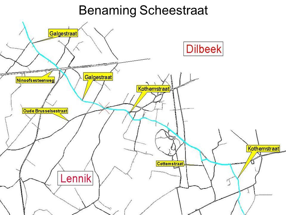 Benaming Scheestraat