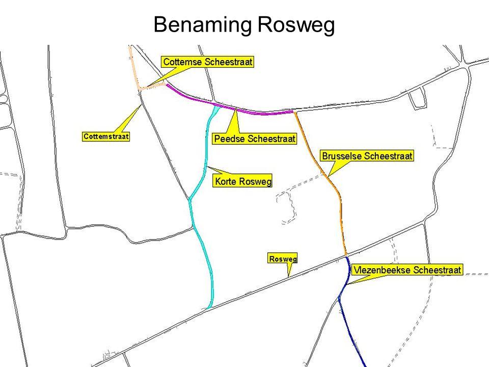 Benaming Rosweg