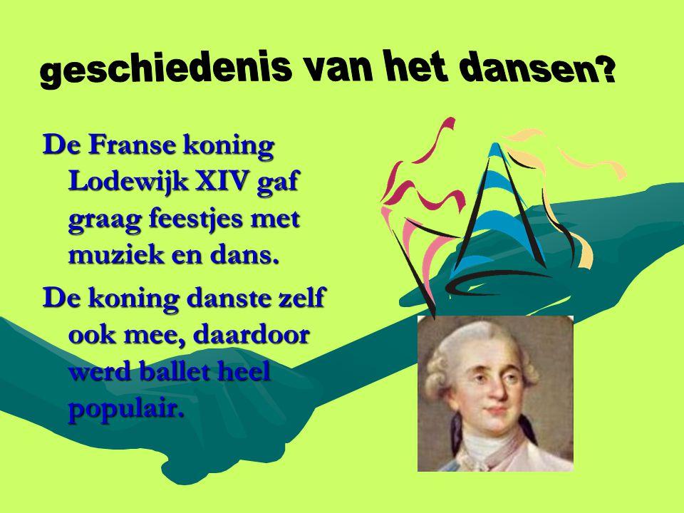 geschiedenis van het dansen