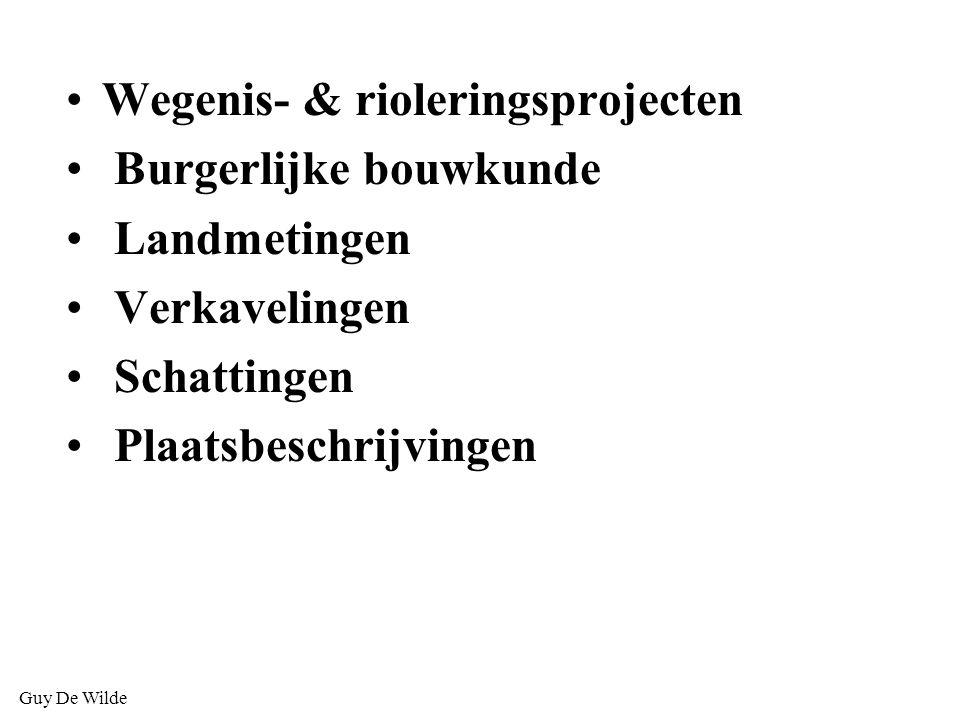 Wegenis- & rioleringsprojecten