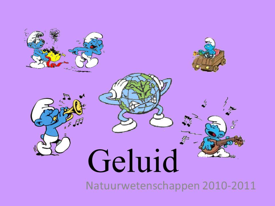 Natuurwetenschappen 2010-2011