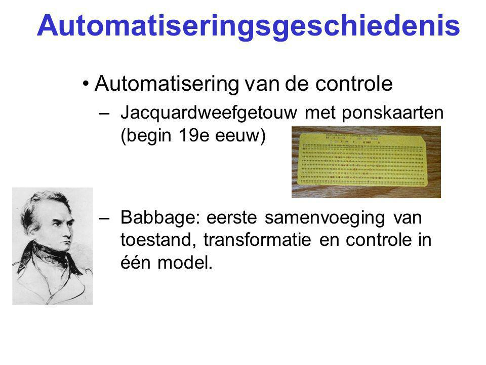Automatiseringsgeschiedenis
