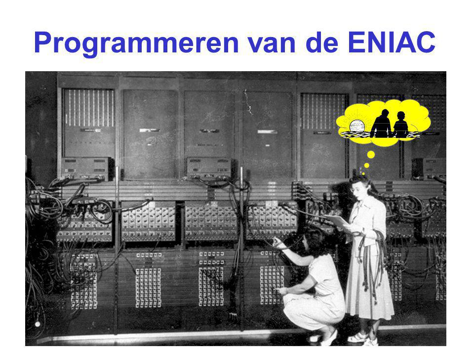Programmeren van de ENIAC