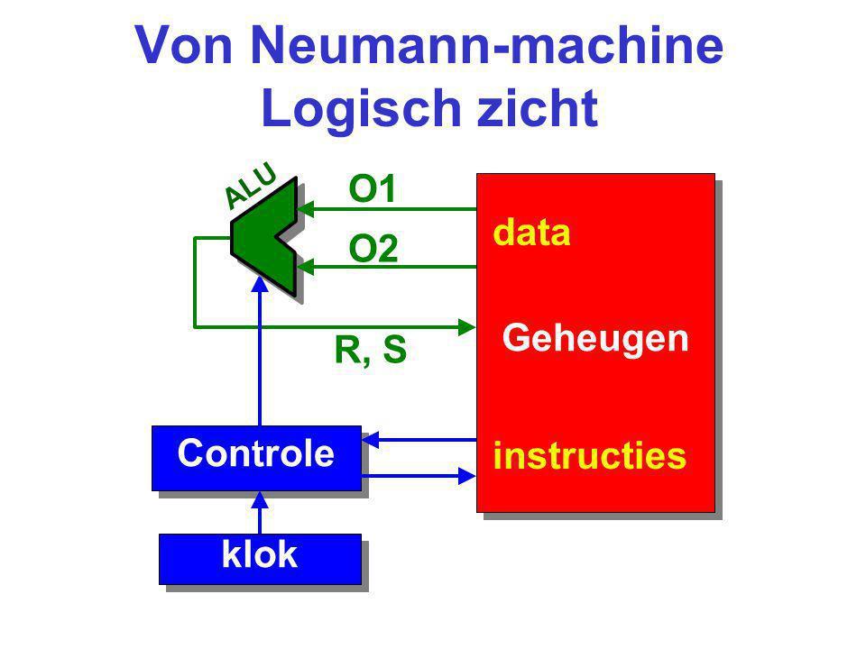 Von Neumann-machine Logisch zicht