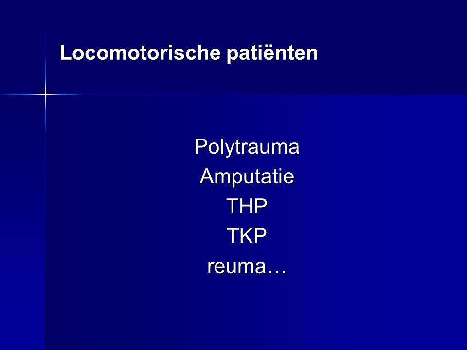 Locomotorische patiënten