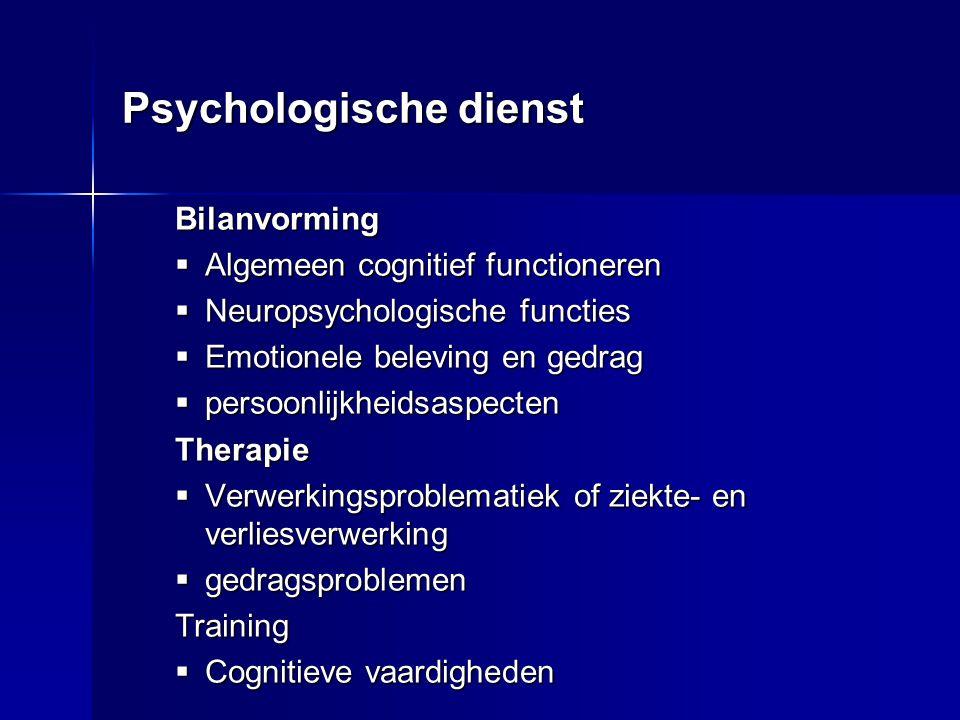 Psychologische dienst