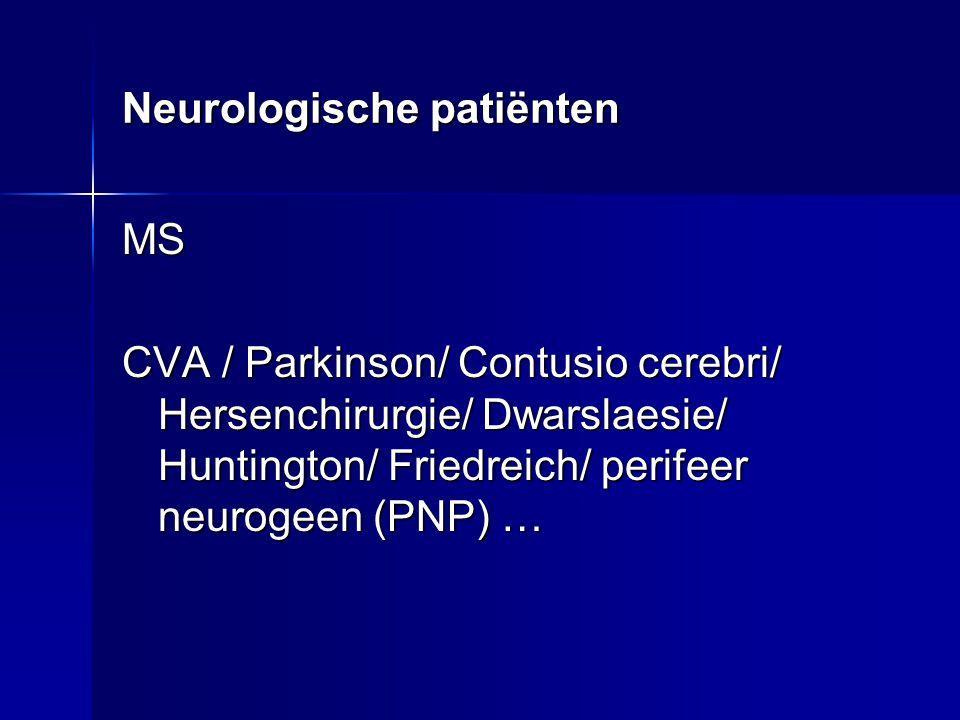 Neurologische patiënten