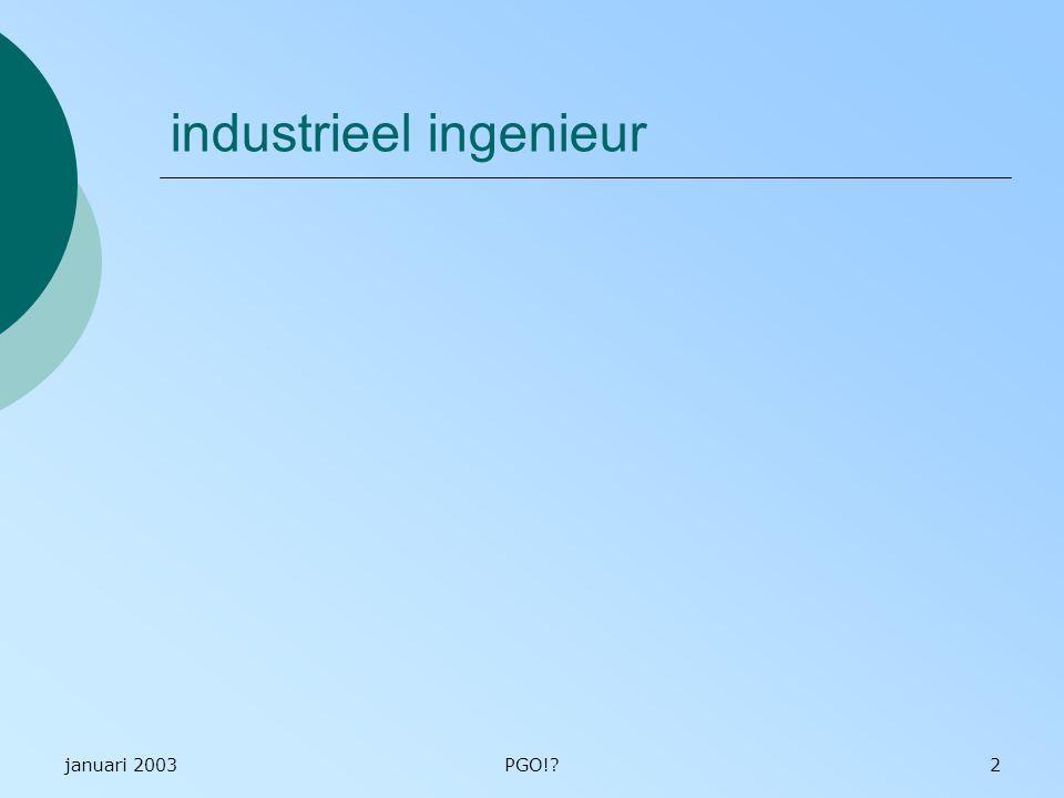 industrieel ingenieur