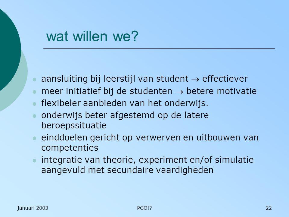 wat willen we aansluiting bij leerstijl van student ® effectiever