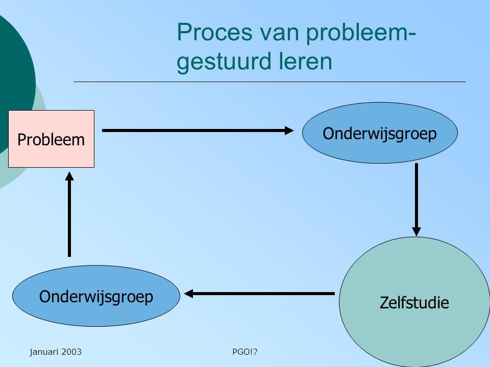 Proces van probleem- gestuurd leren