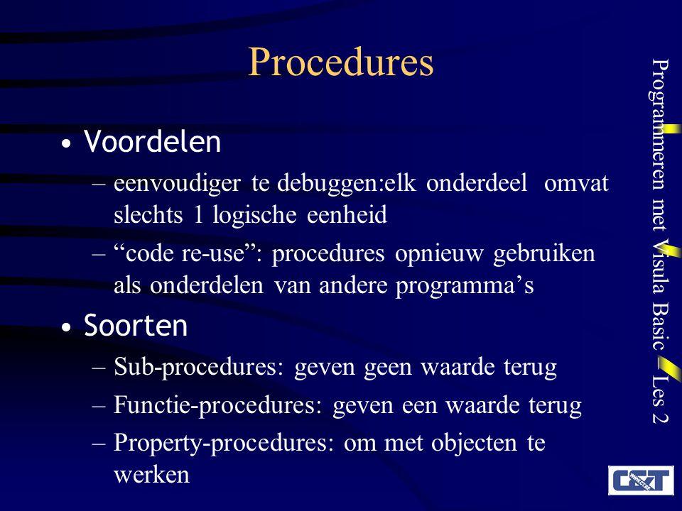 Procedures Voordelen Soorten
