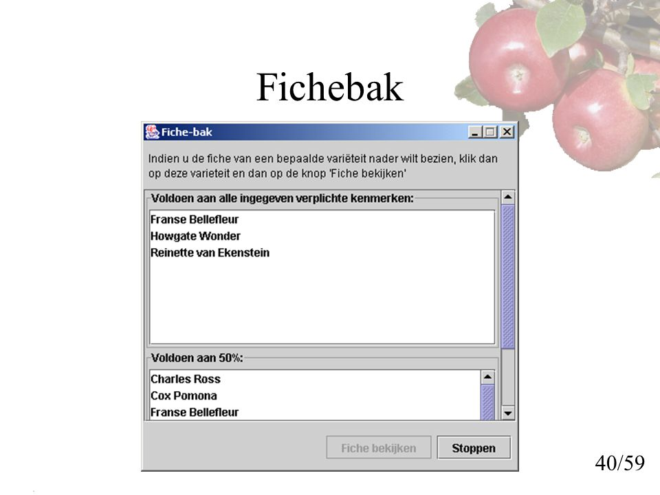 Fichebak 40/59