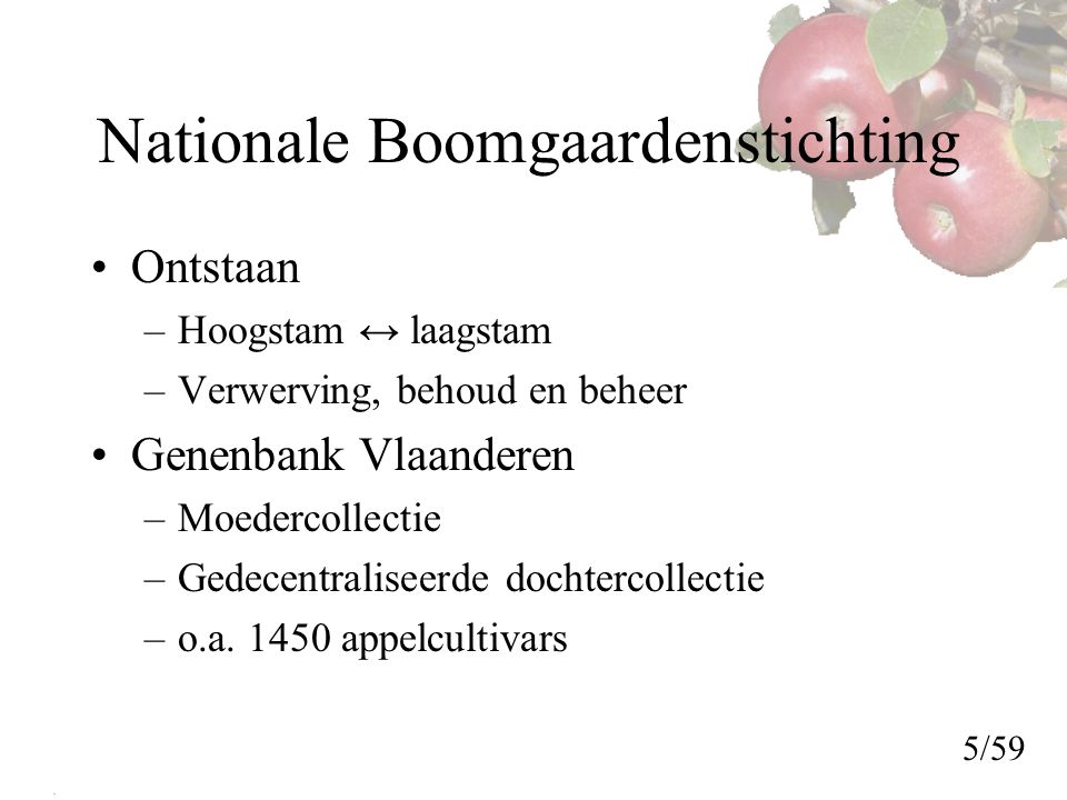 Nationale Boomgaardenstichting