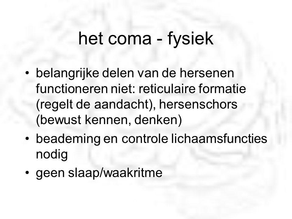 het coma - fysiek