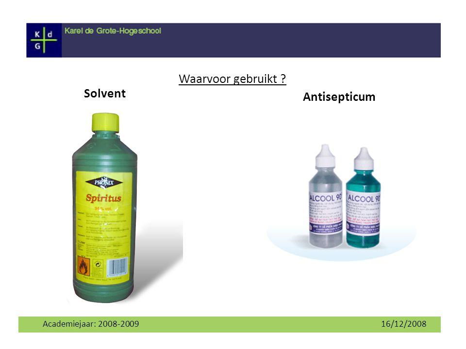 Waarvoor gebruikt Solvent Antisepticum