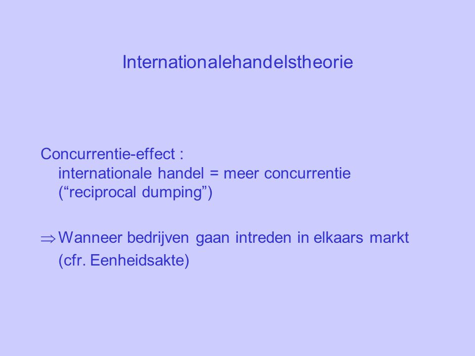 Internationalehandelstheorie