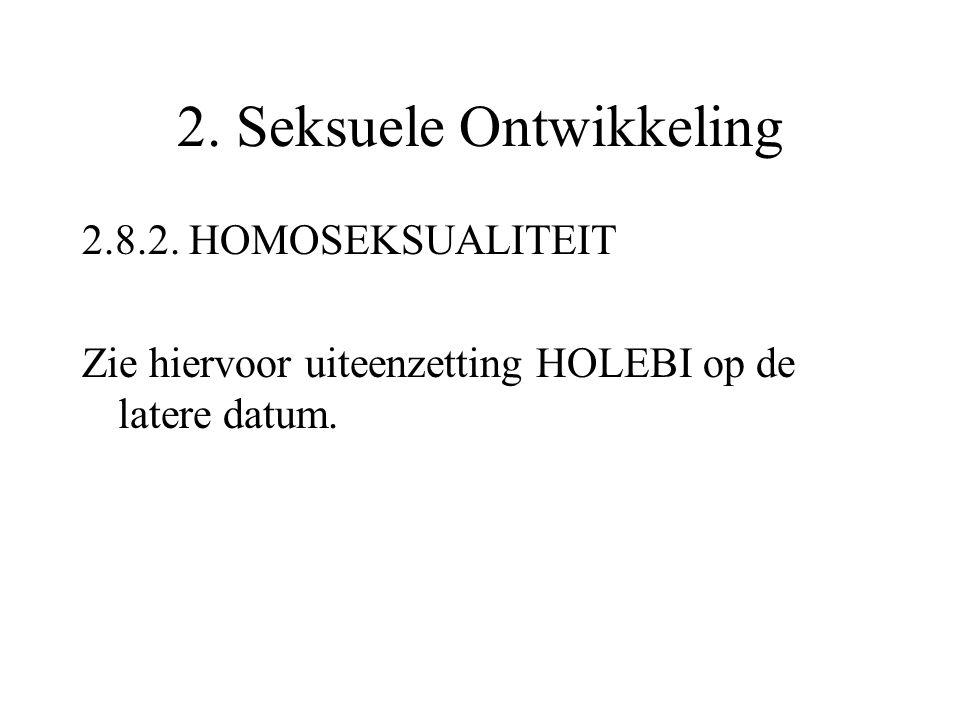 2. Seksuele Ontwikkeling