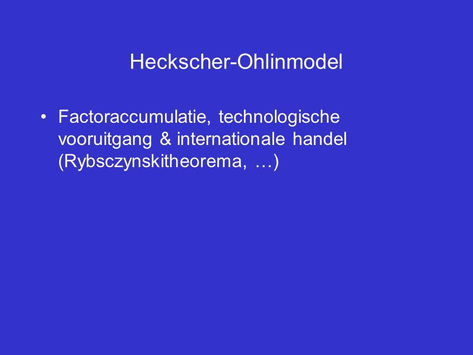 Heckscher-Ohlinmodel