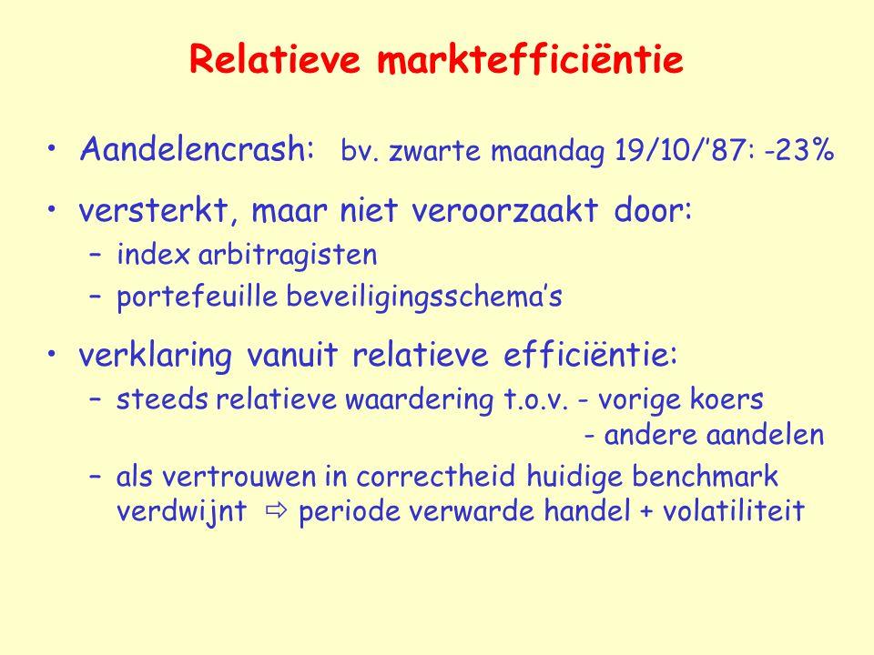 Relatieve marktefficiëntie