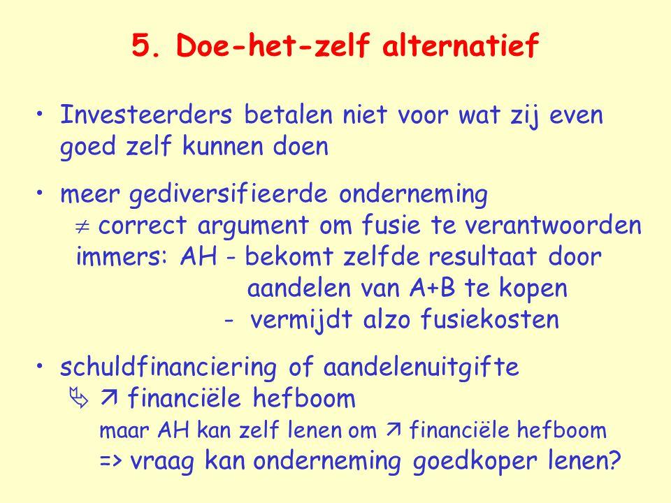 5. Doe-het-zelf alternatief