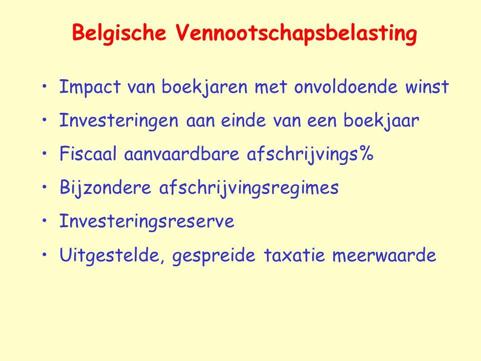 Belgische Vennootschapsbelasting