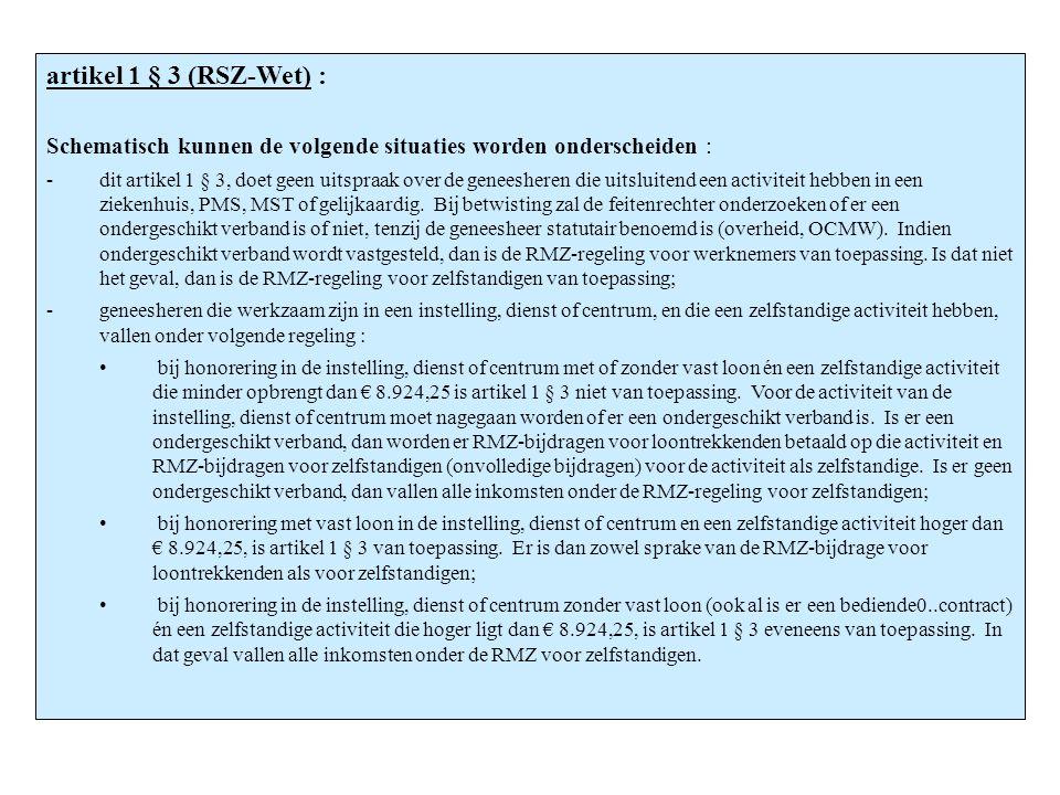 artikel 1 § 3 (RSZ-Wet) : artikel 1 § 3 (RSZ-Wet) :