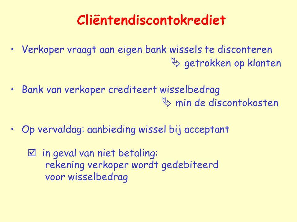 Cliëntendiscontokrediet