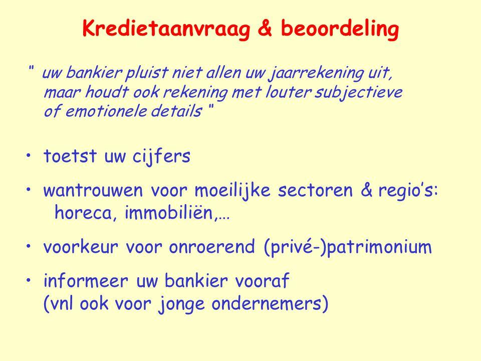 Kredietaanvraag & beoordeling