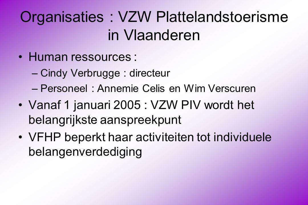 Organisaties : VZW Plattelandstoerisme in Vlaanderen