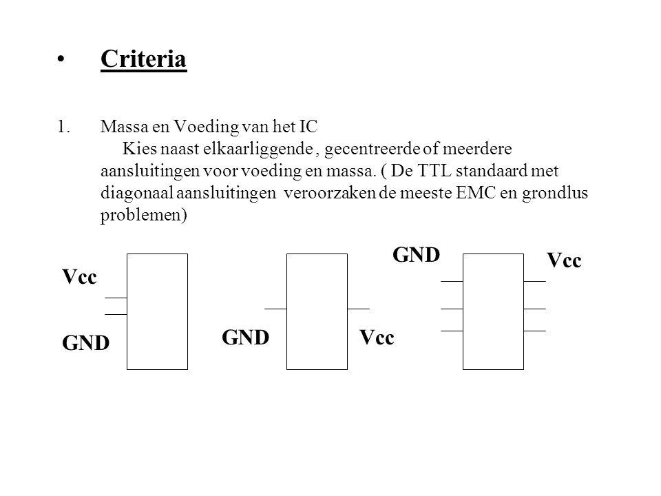 Criteria GND Vcc Vcc GND Vcc GND