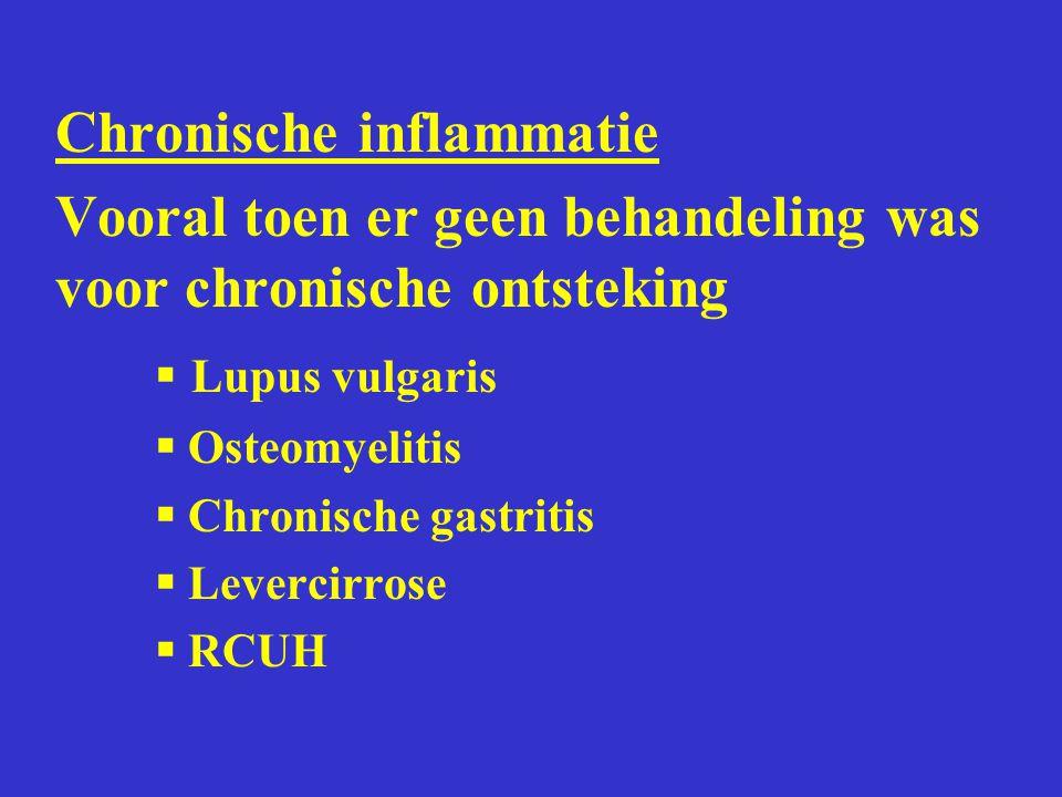 Chronische inflammatie