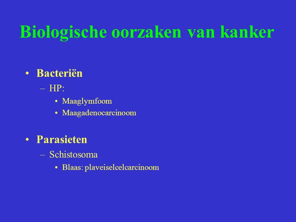 Biologische oorzaken van kanker